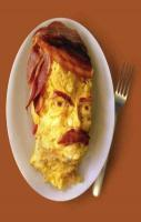 I googled manly breakfast . I wasn't disappointed.