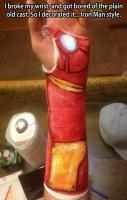 Iron Man style…