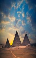 Pyramid of at Giza, Egypt