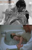 romantic bath