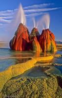 Fly Geyser, also known as Fly Ranch Geyser is a man-made small geother
