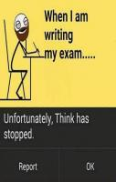 At Exam When I am Writting....