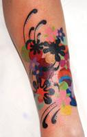 splatter Tattoos