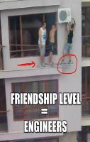 Friendship Level Equal Engineers