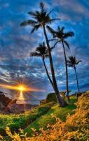 Beautiful Sunset, Hawaii