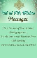 Eid Mubarak Wish in English 2017