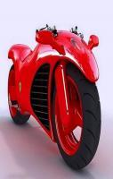 Red Amazing Sports Bike