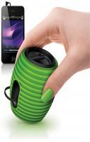 The grenade shaped Philips SoundShooter is a wireless Bluetooth portab