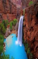 Amazing Water Falling