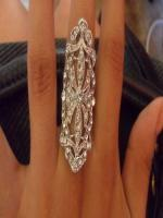 beautiful art deco style ring