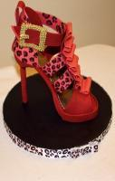 Shoe Cake. If these shoes existed and had a different color buckle I'