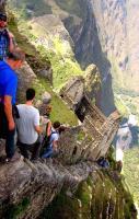 Hiking Huayna Picchu, Machu Picchu, Peru