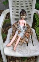 This past winter, my little cousin left her doll sitting in a chair in