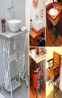 Various ways to re-use old sewing machine