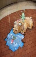 Funny Street 3D Art