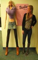 Barbie's proportions brought to life