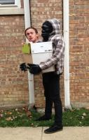 Gorilla Carrying Human - 2012 Halloween Costume Contest