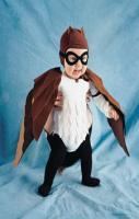 Masked Owl Costume - Martha Stewart Crafts