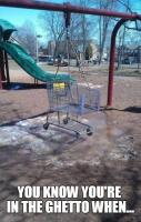 Getto playground, lol