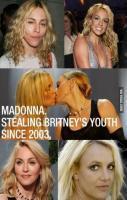 Madonna took Britney's soul