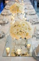 Elegant White Wedding Reception Inspirations