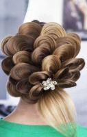 Amazing Hairstyles, artistic hair, petal hair