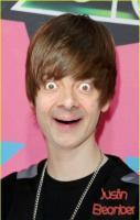 Justin Bieber + Mr. Bean = Justin Beanber. Oh my gosh I think I'm sca