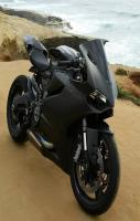 Awesome Black Sexy Sports Bike