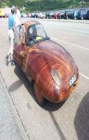 Wooden car I saw on the Isle of Skye, Scotland. Looked quite nice actu