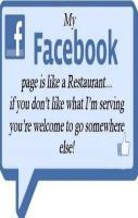 My Restaurant on Facebook Page