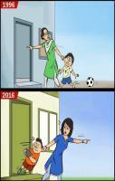 1996 vs 2016 Life Style