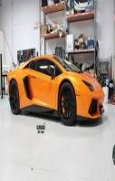 orange aventador car wrap superior  design