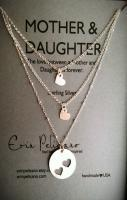 Mother Two Daughters Necklace Set