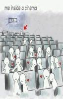 Me Inside A Cinema