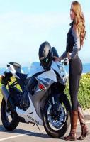 Sexy Bike with Wonderful Rider