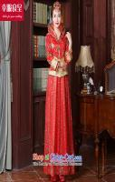 New Sau Wo serving Chinese style wedding dresses