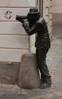 Photographer statue