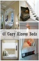 48 Totally Cozy Alcove Bed Designs!