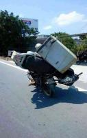 Amazing Overloading on Bike