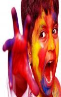 Humor of Holi boy