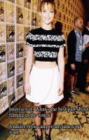 Pee anytime you want... Jennifer Lawrence Funny Replies
