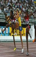 Hurdlers without hurdles.