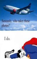Superman Takes Photos