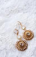 Earrings wedding