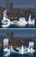 Largest Water Fountain in the World in Dubai