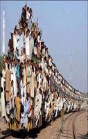 1 Lac Passenger are Travelling in Single Trian