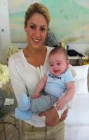 Shakira With Her Baby