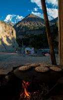Pakistani Pizza At Hunza Valley