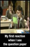 Funny Mr Bean picture! :D :)