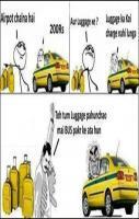 Funny Airport Chalna Hai